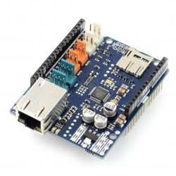 Arduino Ethernet Shield 2 with memory card reader microSD