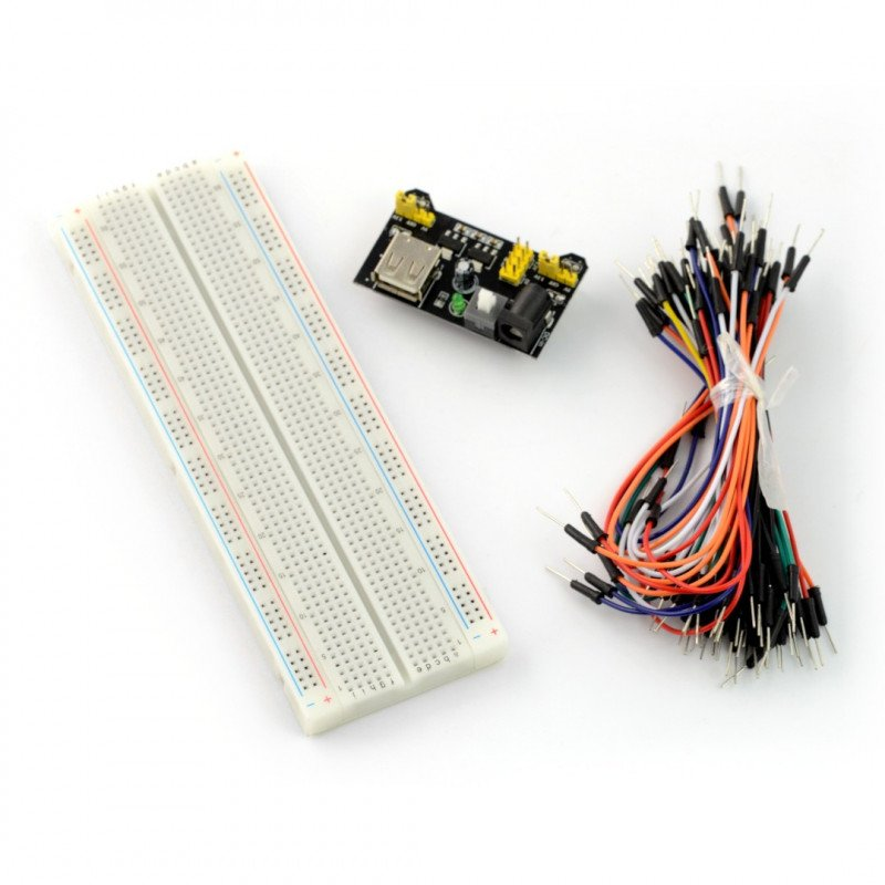 Kit contact plate 830 + cables + power supply module