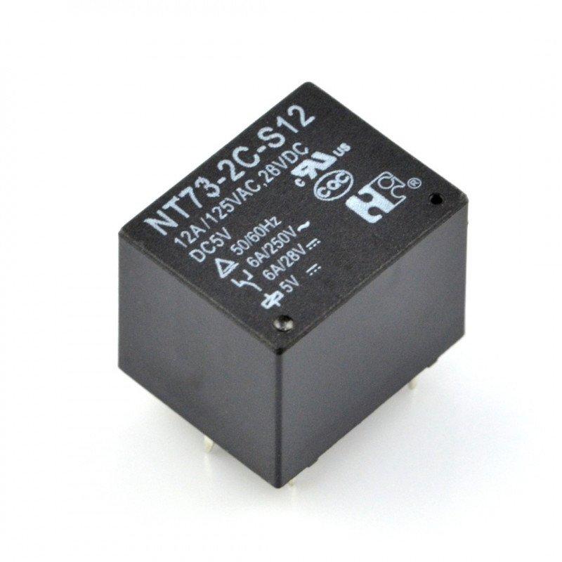 Przekaźnik - cewka 5V, styki 10A/240VAC