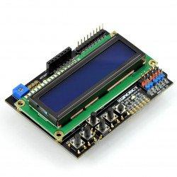 DFRobot LCD Keypad Shield v1.1- display for Arduino