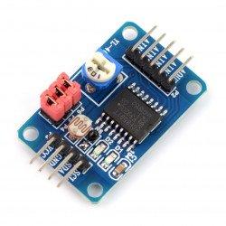 PCF8591 - A/D and D/A converter, 8-bit I2C v2*