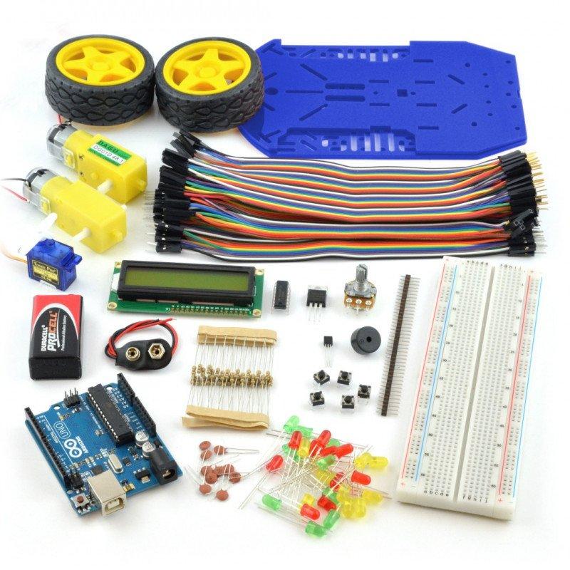 Arduino StarterKit from scratch with the Arduino Uno module