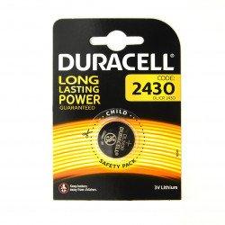 Duracell battery DL/CR 2430 3V