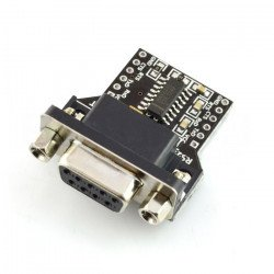 Converter RS232 - UART with...