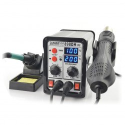 Soldering station Zhaoxin 898DH with hot air