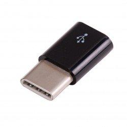 Adapter USB micro-B na USB-C - biały - oryginalny dla Raspberry Pi