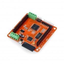 RGB 8x8 LED matrix controller - Iduino - ATmega328 + DM163