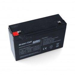 Gel battery 6V 12Ah Green Cell