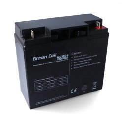 Gel rechargeable battery 12V 18Ah Green Cell