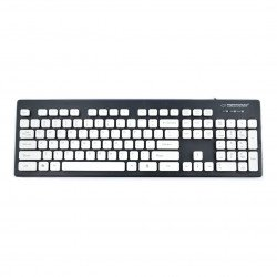 Waterproof keyboard USB Singapure Esperanza - black
