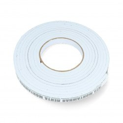 Foam tape, self-adhesive on both sides 15mm x 3.5m