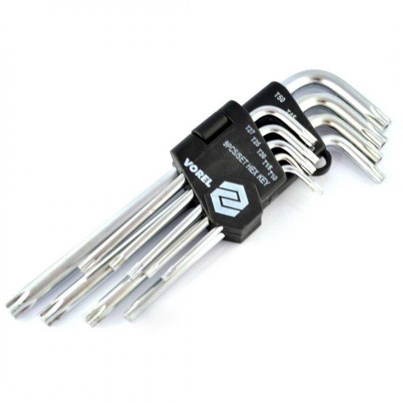 Key set TORX T15-T50
