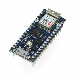 Arduino Nano 33 IoT with connectors