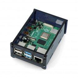 Raspberry Pi Case Model 4B - black - LT-4B15