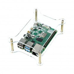 Raspberry Pi Model 4B/3B+/3B/2B open transparent - LT-4B20