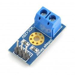 Arduino 25V Voltage Sensor Module