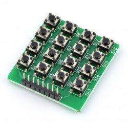 Keyboard - matrix 16 x tact switch