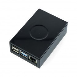 Case for Raspberry Pi model 4B - Multicomp Pro - black