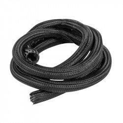 Self-closing braid for Landberg 19mm black polyester 5m