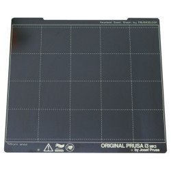 Spring steel plate - for Prussia MK3/MK3S printers - smooth