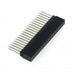 GPIO Stacking Header for Pi A+/B+/Pi 2/Pi 3 - Extra-long 2x20 Pins