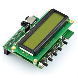 PiFace Control & Display 2 - extension to Raspberry Pi B+