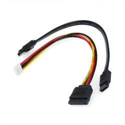 SATA cable and power cord for Odroid H2