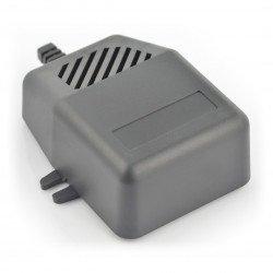 Plastic box Kradex Z92U - 85x78x32mm black