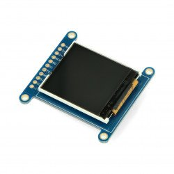 """TFT LCD display 1.44 """" 128 x 128 with microSD reader"""