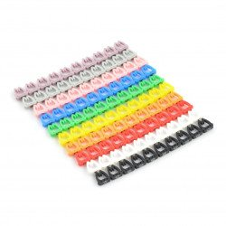 Markers kit for 4mm cables - 100pcs