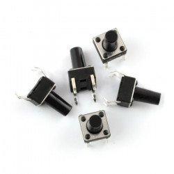 Tact Switch 6x6mm / 13 mm THT - 5pcs
