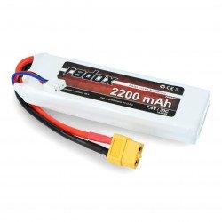 LiPol Redox 2200mAh 20C 2S 7.4V package
