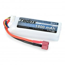 LiPol Redox 1300mAh 20C 3S 11.1V package