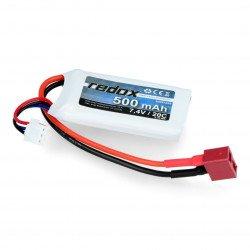 LiPol Redox package 500 mAh 20C 7.4V