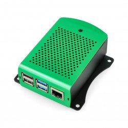 Raspberry Pi model 4B aluminium - green - LT-4B01-A