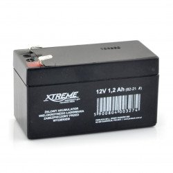 Gel rechargeable battery 12V 1.2Ah Xtreme