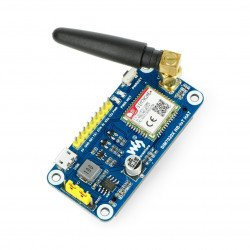Waveshare NB-IoT HAT - GPS/GSM SIM7020E - overlay for Raspberry Pi 4B/3B+/3B/2B/Zero