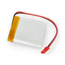 Li-Pol Akyga 3.7V 1S 1500mAh Li-Pol Akyga 3.7V 1S 1500mAh battery connector + socket 2.54 JST - 2 pins