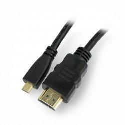 HDMI-micro HDMI Blow Classic cable black - 1.5m