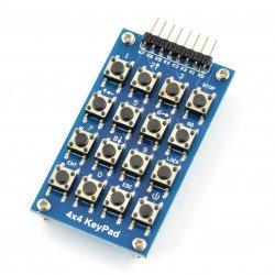 Keyboard - 4x4 tact switch matrix*