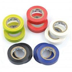 Set of insulation tapes 12 mm x 10 m - 10 pcs.