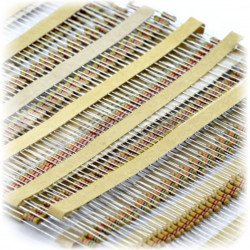 A set of CF THT resistor 1/4W describes is 1000pcs.
