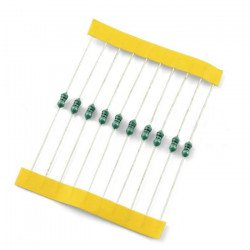 Inductor 100uH axial suppression/90mA - 10pcs.
