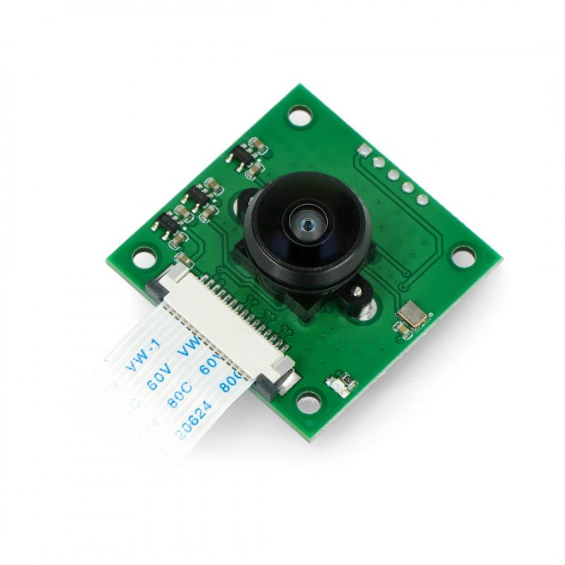 Camera with lens LS-40180 Fish Eye CS mount - for Raspberry Pi