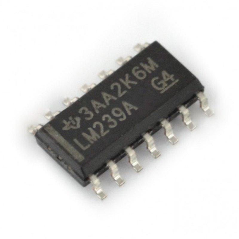 Komparator analogowy LM239 (SMD)