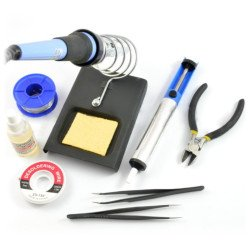 Tools set for soldering +...