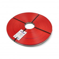 Ribbon cable TLWY - 10x0.35mm²/AWG 22 - multicoloured - 50m