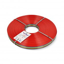 Ribbon cable TLWY - 10x0.75mm²/AWG 18 - multicoloured - 25m