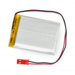 Battery Li-Pol Akyga 1850mAh 1S 3.7V - JST-BEC connector + socket - 52x44x7mm