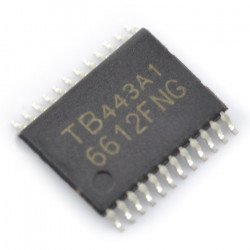 TB6612FNG - Two channel motor controller